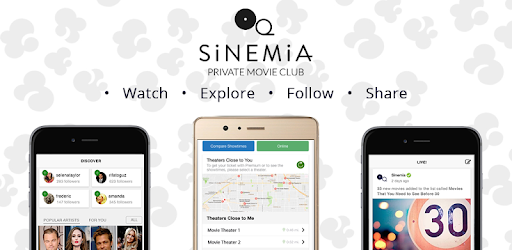 Sinemia App Not working Solution