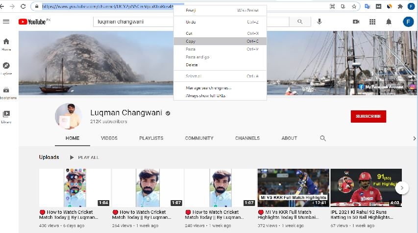 Download YouTube Profile Picture Online