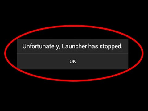 Unfortunately, Nox Launcher has Stopped Working